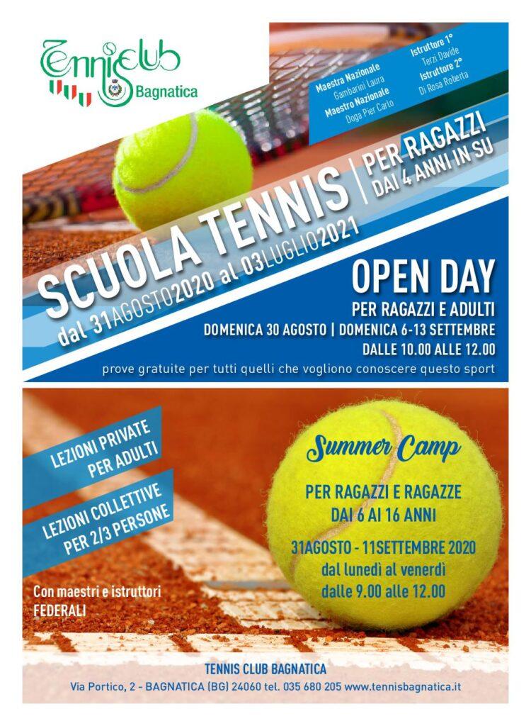 Scuola Tennis Bagnatica 2020-2021